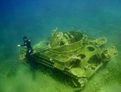 Танки на дне моря world of tanks и не только